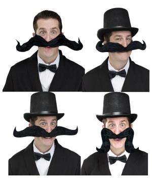 Jumbo Bendy Mustache