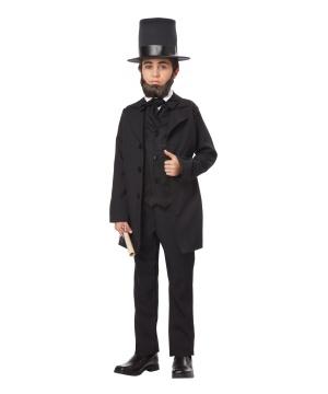 Kids Abraham Lincoln Costume