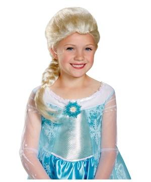 Kids Disney Frozen Elsa Wig