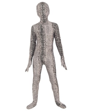 Kids Invisible Snake Suit Costume