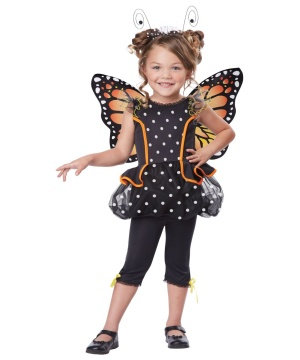 Kids Monarch Butterfly Costume