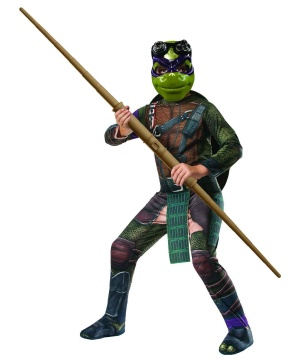 Ninja Turtles Donatello Boys Costume