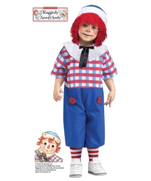 Kids Raggedy Andy Costume