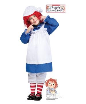 Kids Raggedy Ann Costume