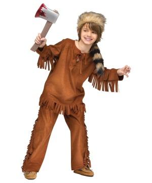 Kids Wild Frontiersman Costume