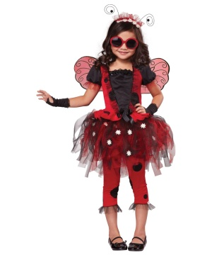 Ladybug Girls Costume