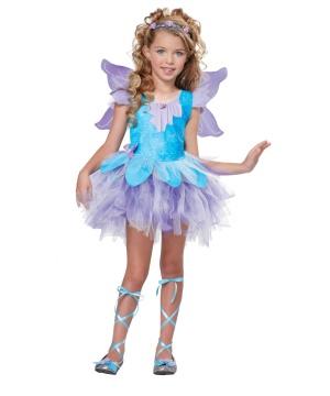 Lilac Fairy Girls Costume