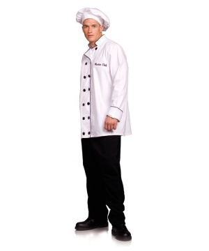 Master Chef Men Costume