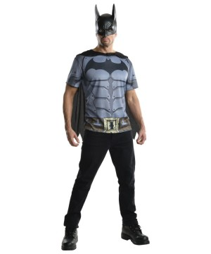 Mens Batman Arkham Costume