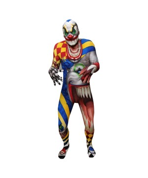 Mens Clown Morphsuit Costume