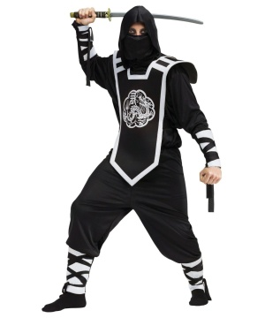 Mens Dragon Ninja Assassin Costume