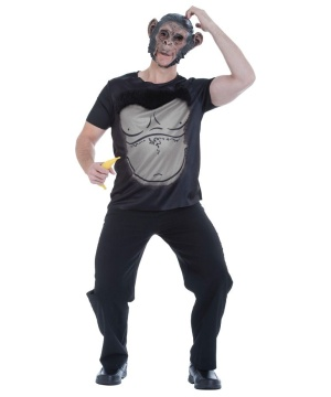 Mens Funky Monkey Costume Kit