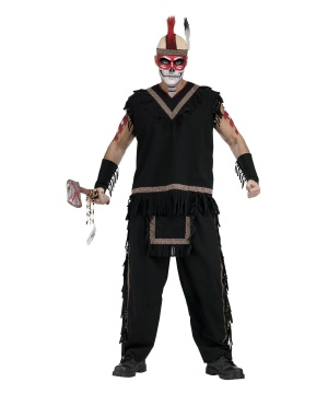Mens Indian Warrior Costume