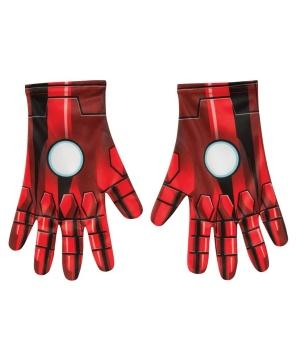 Mens Iron Man Costume Gloves