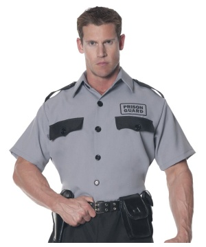 Mens Prison Guard Shirt