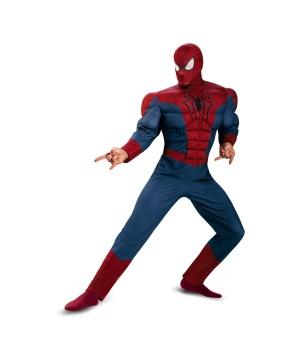 Mens Spider Man Costume plus size