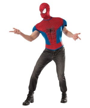 Mens Spider Man Costume Set