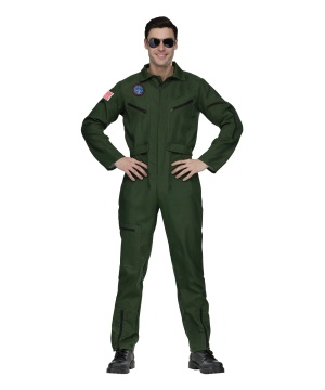 Mens Top Gun Aviator Costume