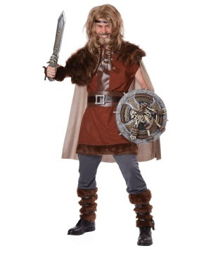 Mens Viking Warrior Costume