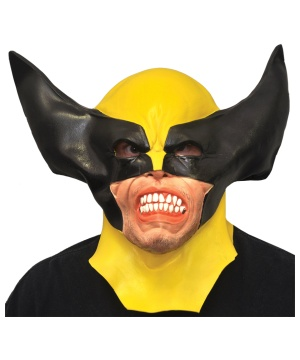 Mens Wolverine Latex Mask