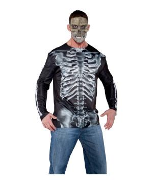Mens Xray Shirt Costume