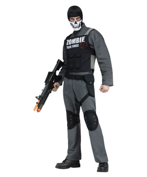 Mens Zombie Task Force Costume