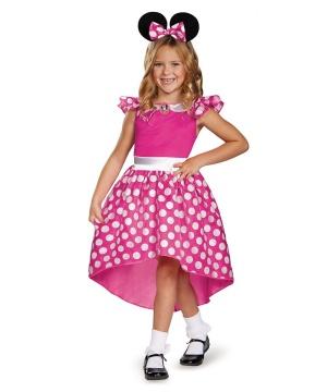 pink minnie mouse toddler girls costume girls costume. Black Bedroom Furniture Sets. Home Design Ideas