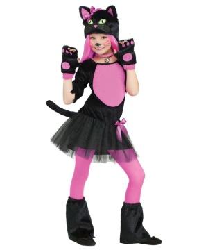 Miss Kitty Girls Costume