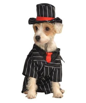 Mobster Pet Costume
