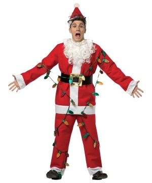 National Lampoons Christmas Santa Costume