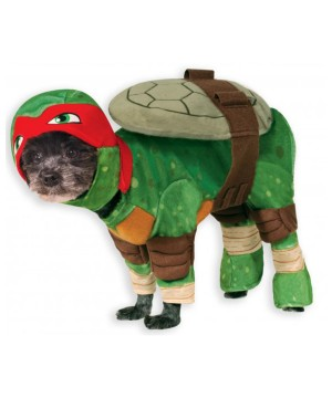 Ninja Turtles Raphael Pet Costume