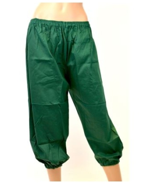 Pants Short Cotton Pants Elastic Waistband
