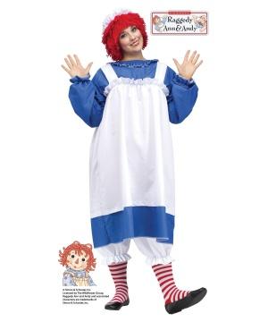 Plus size Raggedy Ann Costume