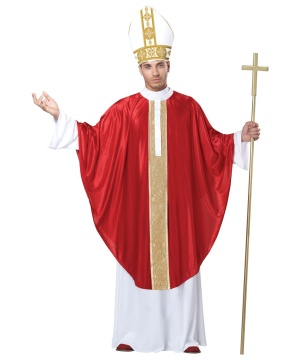 Pope Mens Costume