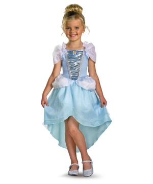 Princess Cinderella Girls Costume