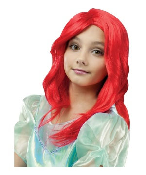 Princess Mermaid Girls Wig