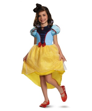 Princess Snow White Girls Costume