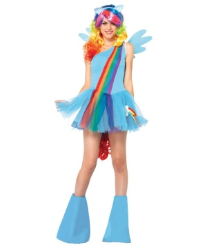 Rainbow Dash Womens Costume
