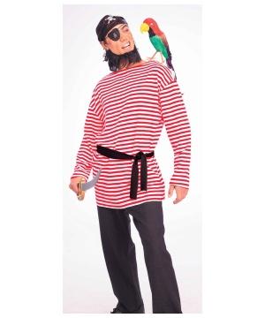 Red Pirate Matie Mens Costume