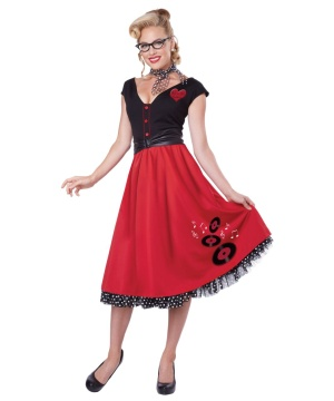 Roll Sweetheart Womens Costume