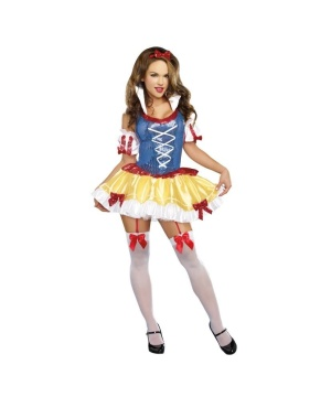 Snow White Costume for Womens