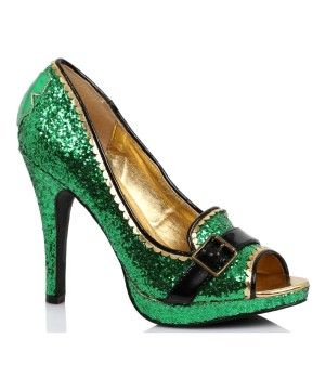 St Patricks Day Sparkle Heels