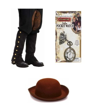 Steampunk Gunslinger Costume Kit