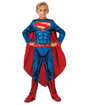 Superman Jumpsuit Boys Costume