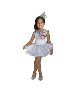 Tin Man Tutu Girls Costume