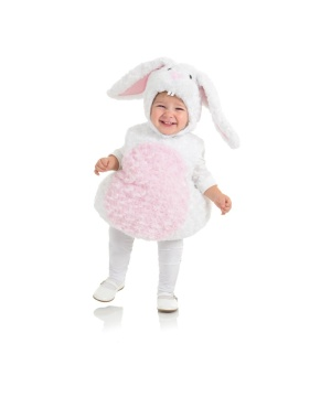 Toddler White Bunny Costume