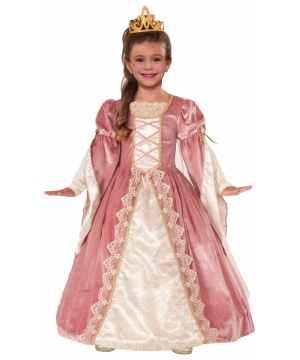 Victorian Rose Princess Girls Costume