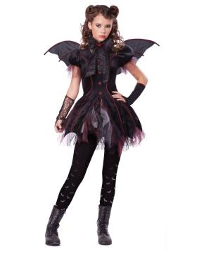 Victorian Vampiress Girls Costume