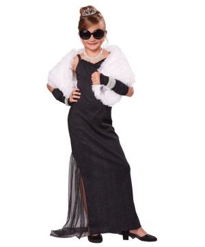 Vintage Hollywood Diva Girls Costume