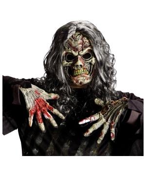 Walking Zombie Costume Kit